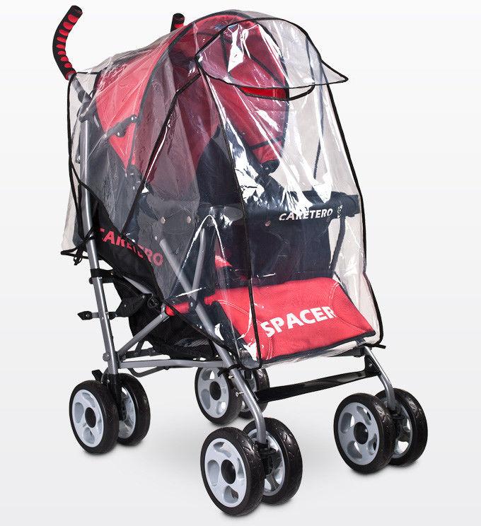 Folia przeciwdeszczowa na wózek spacerowy - uniwersalna
