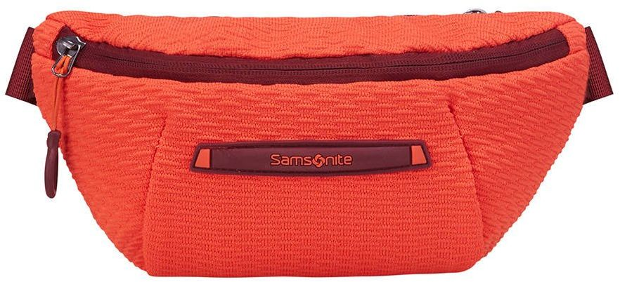 Saszetka torba biodrowa Neoknit Samsonite - fluo red / port