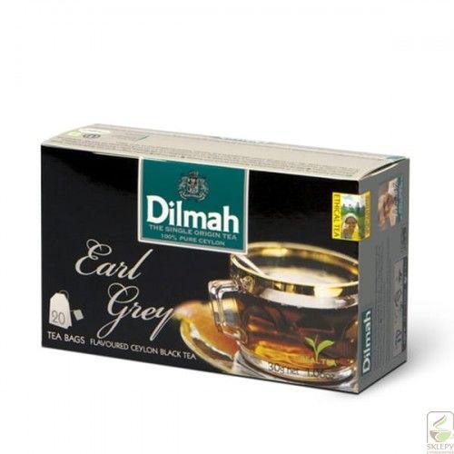 Dilmah Earl Grey Ex20 herbata z zawieszką