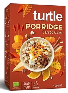 Owsianka o smaku ciasta marchewkowego bio 400 g - turtle