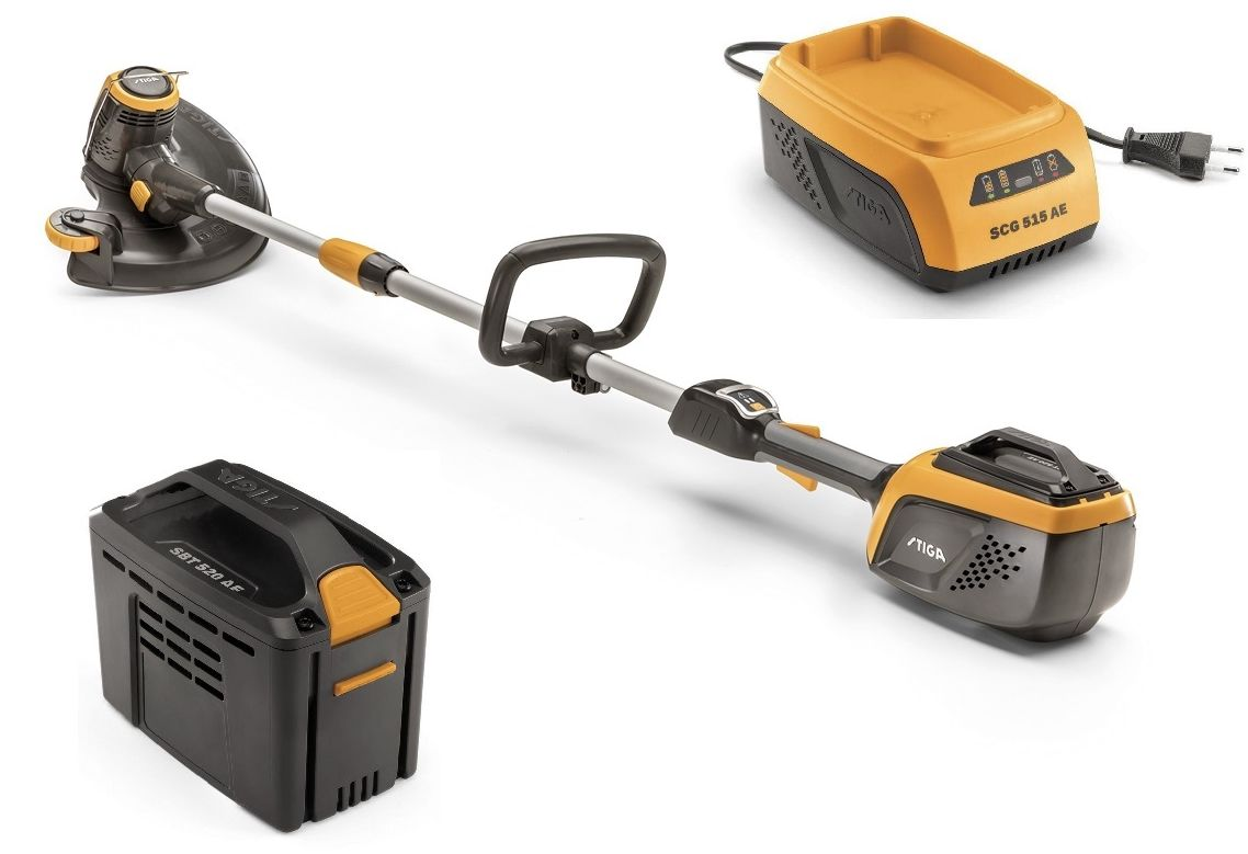 Podkaszarka SGT 500 AE STIGA Akumulatorowa + Akumulator 2,0 Ah + Ładowarka