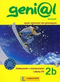 Genial 2B Kompakt Podręcznik z ćwiczeniami i płytą CD