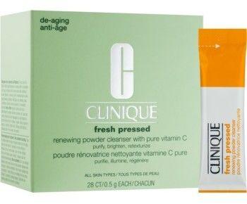 Clinique Fresh Pressed puder czyszczący z witaminą C 28 x 0,5 g
