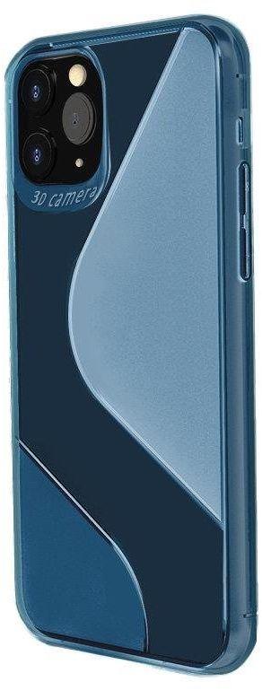 S-Case elastyczne etui pokrowiec Xiaomi Redmi Note 9 Pro / Redmi Note 9S niebieski