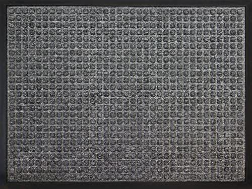 ID Matt 6080 02 AusAusCarre dywan wycieraczka włókno polipropylenowe/guma szary 80 x 60 x 1 cm