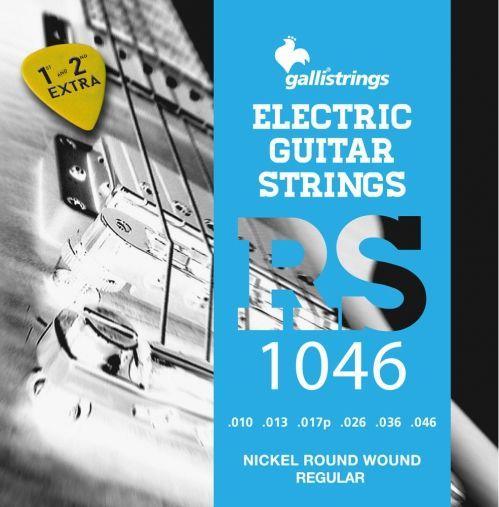 Galli RS1046 - struny do gitary elektrycznej +GRATIS
