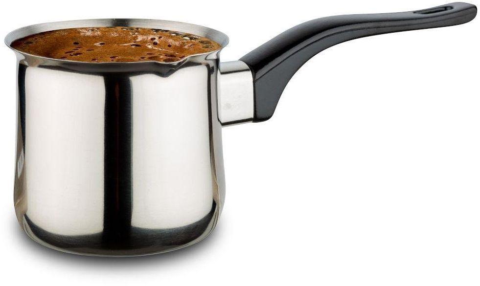 Tygielek stalowy do parzenia zaparzania kawy tureckiej po turecku 220 ml