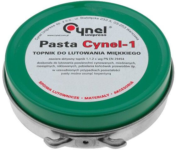 Pasta topnik kalafoniowy RMA pasta 40g