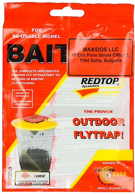 Zestaw naprawczy do pułapki na muchy Redtop (zbiornik+wkład)