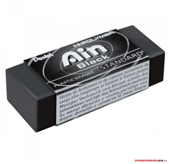 Gumka ołówkowa AIN Black ZEAH06 PENTEL
