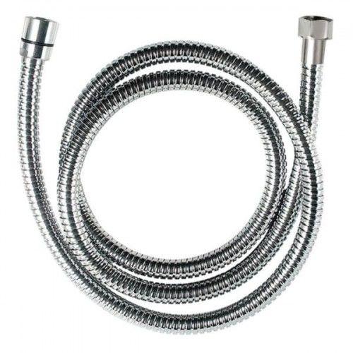 Wąż natryskowy rozciągliwy 150-180 cm 1/2, CHROM