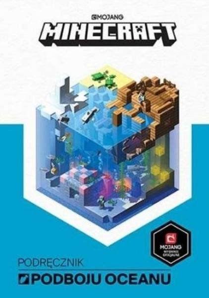 Podręcznik podboju oceanu. Minecraft - Stephanie Milton