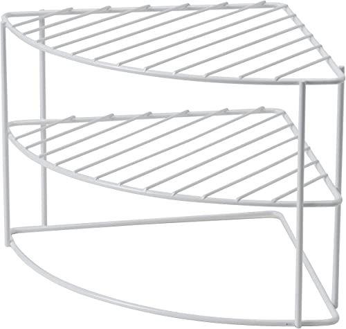 Compactor RAN6969 regał narożny, okrągły, metalowy, 26 x 26 x 21 cm