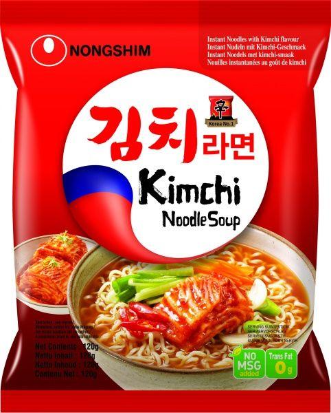 Zupa makaronowa Shin Kimchi Ramyun, ostra 120g - Nongshim