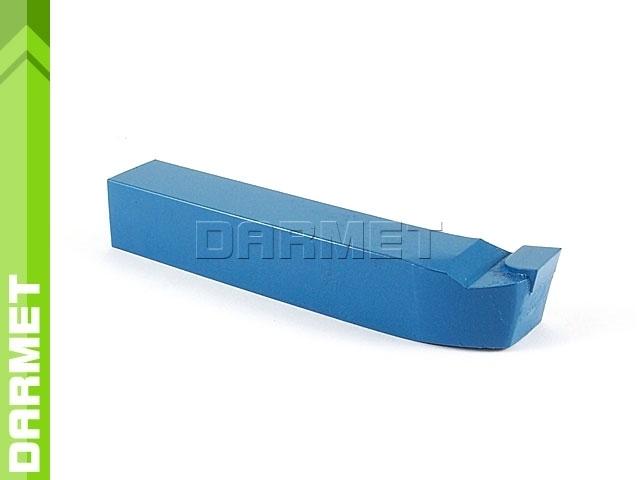 Nóż tokarski czołowy prawy NNBk ISO5, wielkość 1616 S20 (P20), do stali