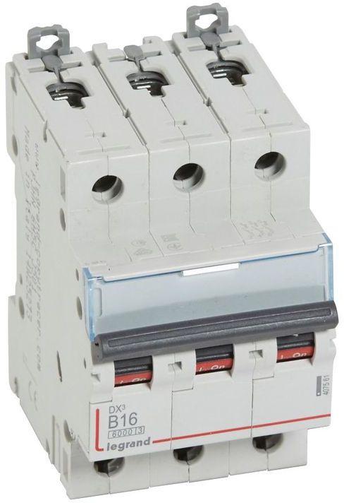Wyłącznik nadprądowy 3P B 16A 6kA S303 DX3 407561