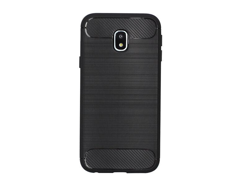 Samsung Galaxy J3 (2017) SM-J330 - etui na telefon Forcell Carbon - czarny