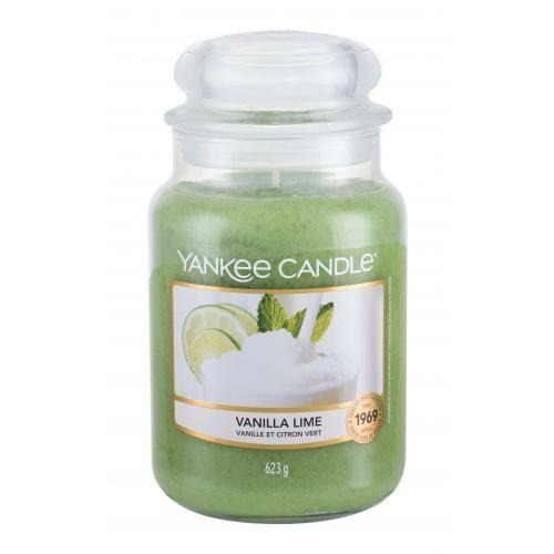 Yankee Candle Vanilla Lime świeczka zapachowa 623 g unisex