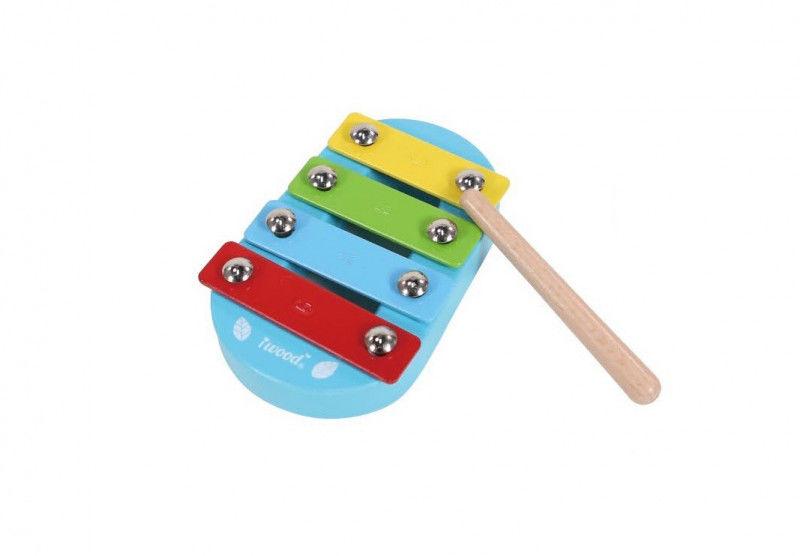 Cymbalki drewniane małe Ksylofon