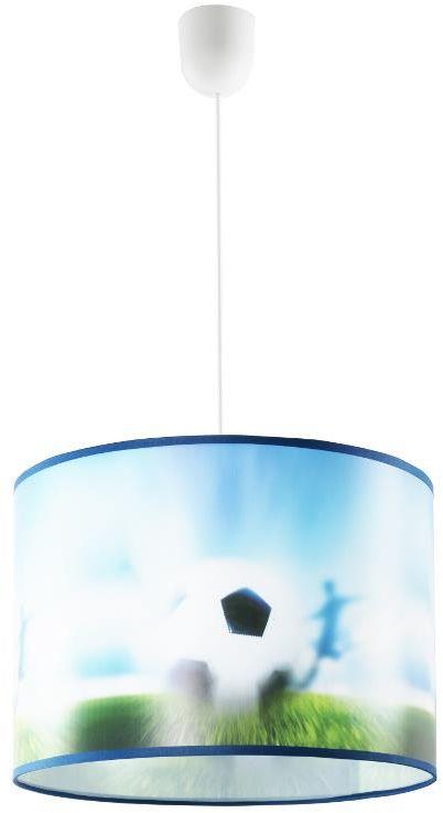 Lampex World Cup B 647/B lampa wisząca dziecięca PVC klosz wielokolorowy E27, 1 60W 35cm