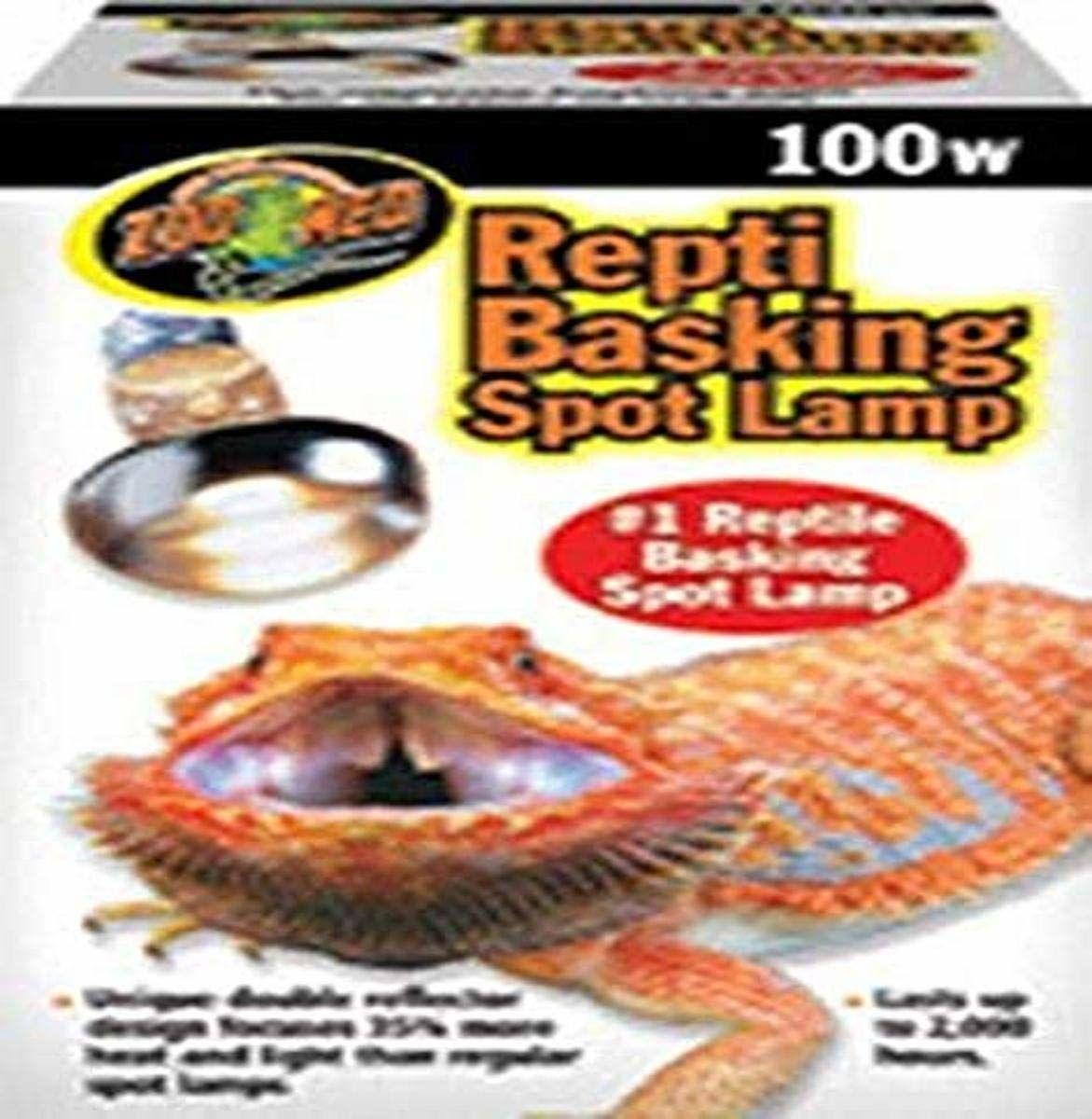 Zoo Med SL-100E Repti Basking Spot reflektor, 100 W, do ciepła i światła w terrarium