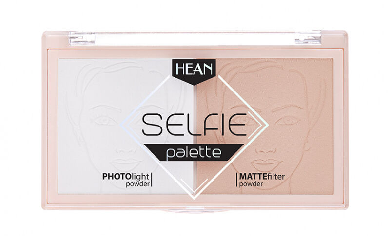 HEAN - SELFIE PALETTE - Paletka utrwalająca makijaż - 18 g