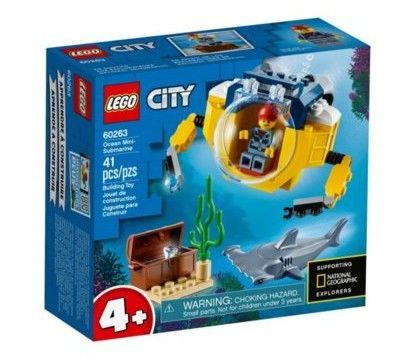 Klocki City Oceaniczna mini łódź podwodna