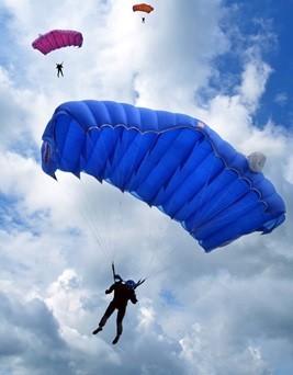 Skok ze spadochronem  Wrocław (Szymanów)