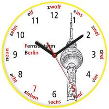 Zegar języki świata Wieża TV Berlin
