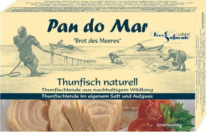 Tuńczyk w sosie własnym 120 g - pan do mar
