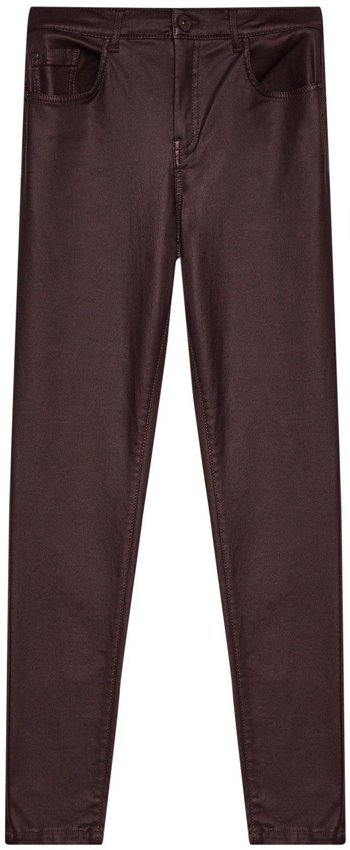 Spodnie rurki woskowane
