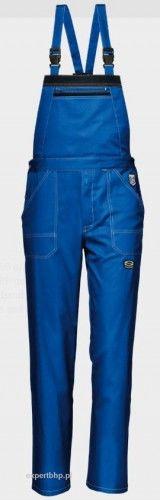 Spodnie ogrodniczki SYMBOL SIR w kolorze niebieskim