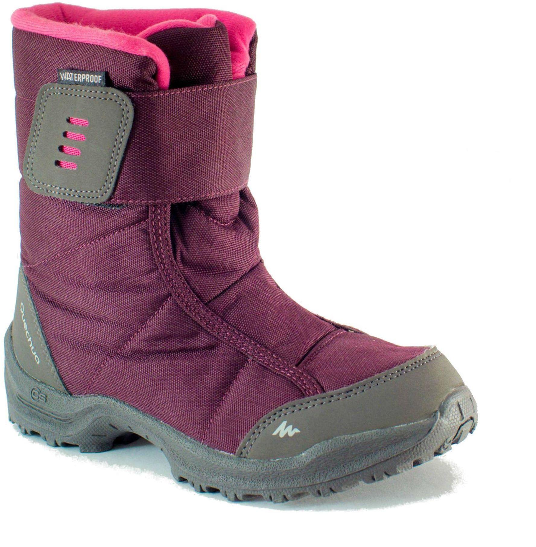 Buty turystyczne śniegowce - SH100 X-WARM - dla dzieci