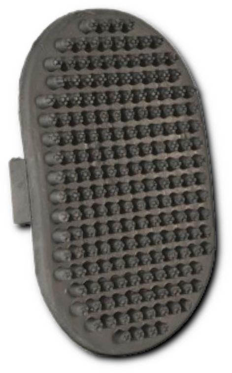 Szczotka masująca z gumy (nacięte końcówki) 9 x 13 cm