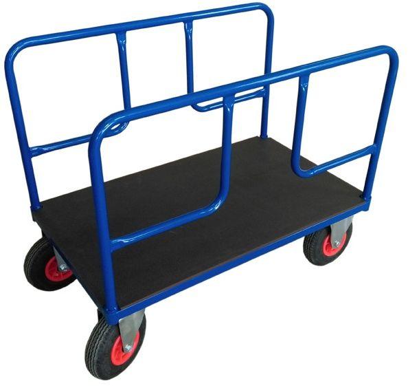 Wózek platformowy 2-poręczowy, sklejka (1000x600), 250 kg