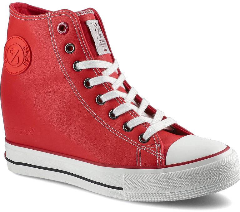Sneakersy CROSS JEANS II2R4026C Czerwony