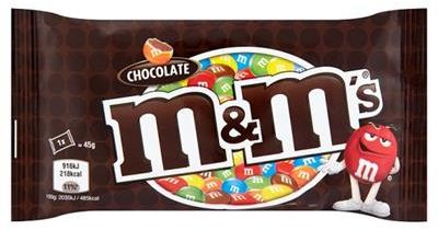 Draże M&M''s Chocolate 45g