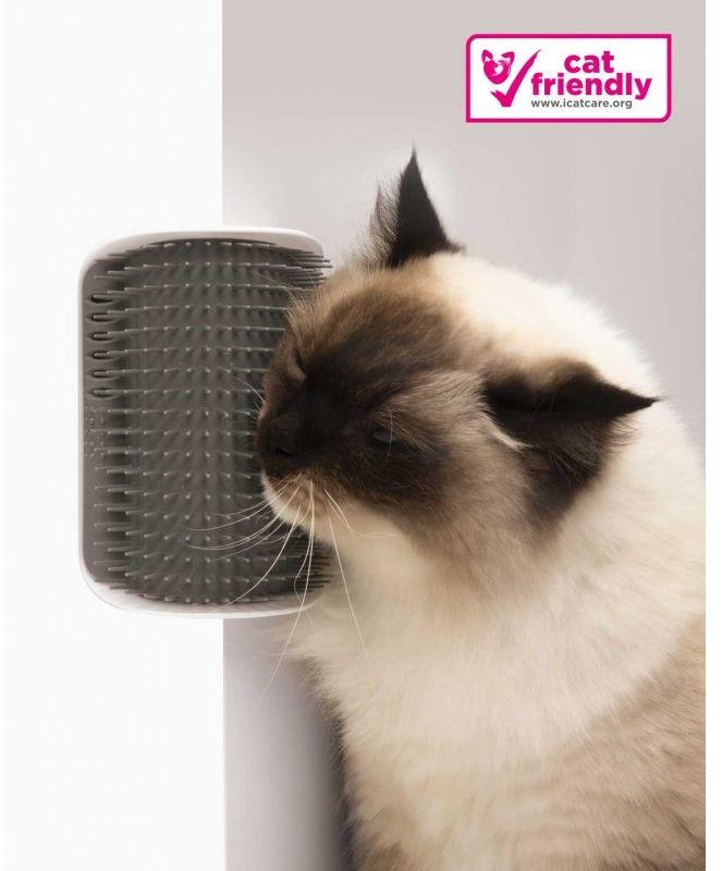 Szczotka dla kota Catit Senses 2.0 Self Groomer, montowana do ścian/ mebli