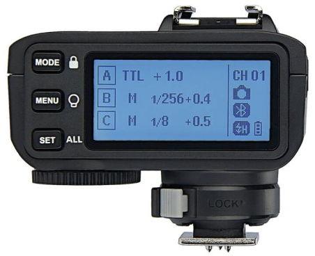 Godox X2T Canon transmitter - nadajnik do lamp studyjnych i reporterskich TTL Godox X2T Canon transmitter