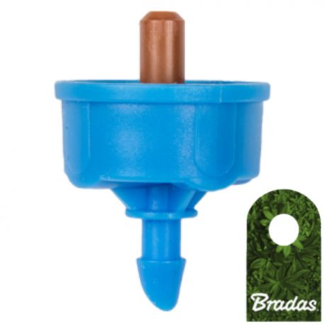 Kroplownik z kompensacją ciśnienia 8l/h wyjście 5mm Bradas 0100