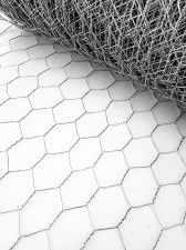 Siatka metalowa heksagonalna