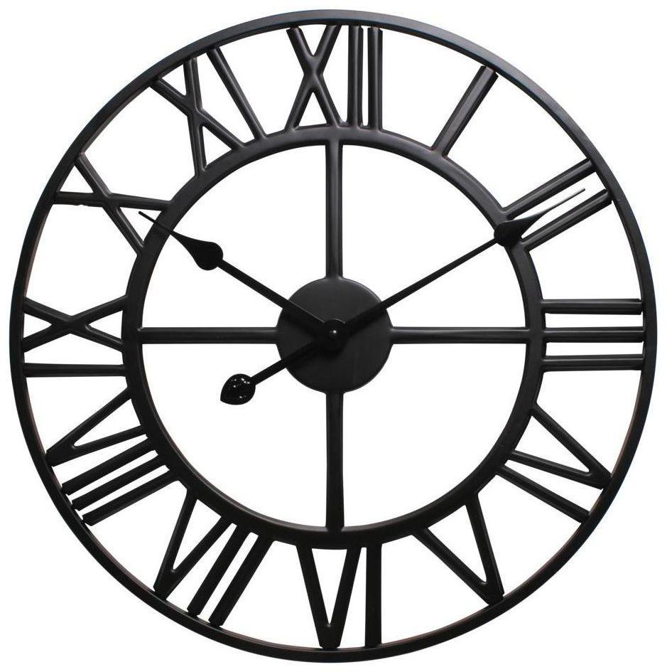 Zegar ścienny Solar śr. 40 cm czarny
