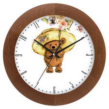 Zegar drewniany solid kapelusznik