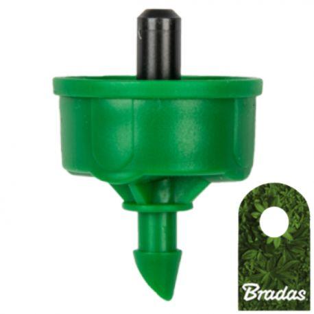 Kroplownik z kompensacją ciśnienia 4l/h wyjście 5mm NO-DRAIN Bradas 0117