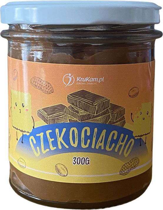KruKam Czekociacho Słodka Pasta z Ciasteczkami 300g