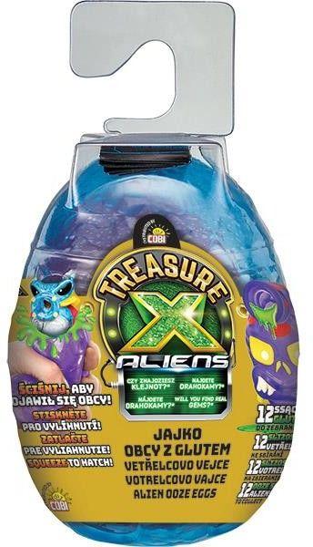 Figurka Treasurex Aliens Jajko Obcy z glutem
