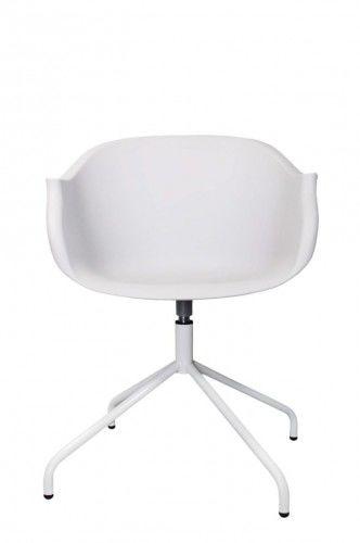 Krzesło Roundy białe
