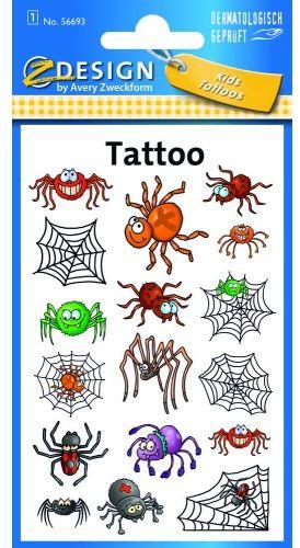 Tatuaże Z-Design - pajączki
