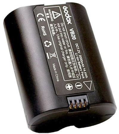 Godox VB-20 - akumulator do lamp błyskowych Godox serii V350, 2000mAh Godox VB-20