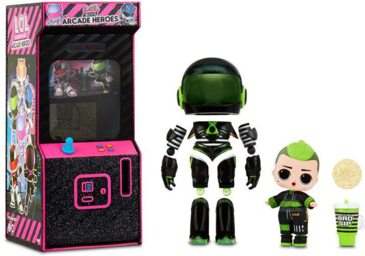 L.O.L. SURPRISE Arcade Heroes Gear Guy LOL 570110 C 570103
